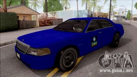 Dundreary Admiral SA Department of NR 2010 para GTA San Andreas