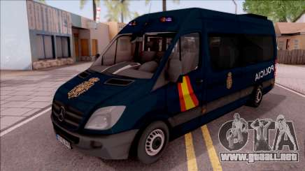 Mercedes-Benz Sprinter Spanish Police para GTA San Andreas
