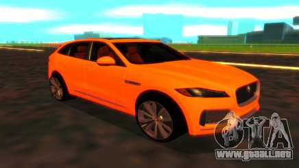 Jaguar F-Pace para GTA San Andreas