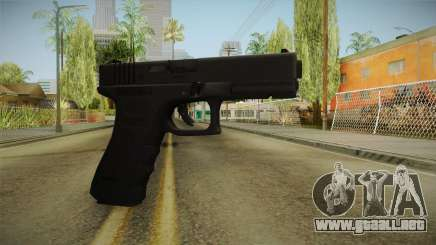 Glock 17 3 Dot Sight Cyan para GTA San Andreas