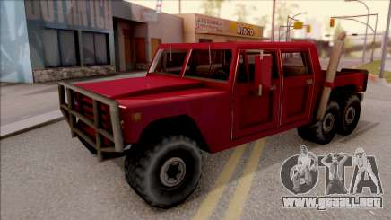 Patriot 6x6 para GTA San Andreas