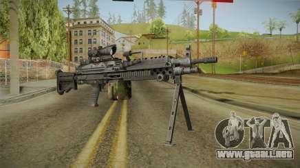 M249 Light Machine Gun v5 para GTA San Andreas