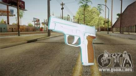 Chrome Sag Sauer P228 para GTA San Andreas