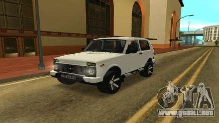 Lada Urban Armenian para GTA San Andreas