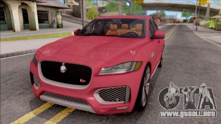 Jaguar F-Pace S para GTA San Andreas