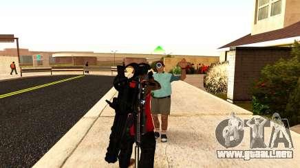 Una nueva visión para los rifles y las bazucas para GTA San Andreas
