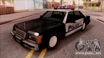 Vice City Police Car para GTA San Andreas