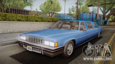 GTA 5 Albany Emperor Limo para GTA San Andreas