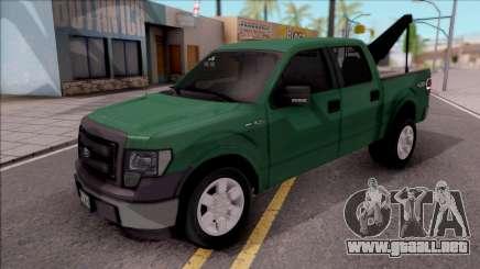 Ford F-150 Towtruck para GTA San Andreas