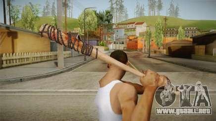 Lucille Negan Baseball Bat The Walking Dead para GTA San Andreas