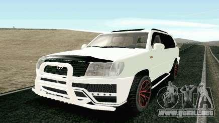 Toyota Land Cruiser 100 2017 para GTA San Andreas