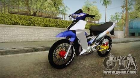 Yamaha 125Z Alloy Black para GTA San Andreas