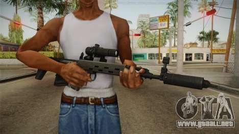 El arma de la Libertad v2 para GTA San Andreas tercera pantalla
