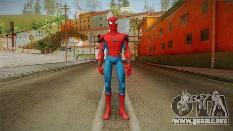 Marvel Contest Of Champions - Spider-Man v1 para GTA San Andreas segunda pantalla