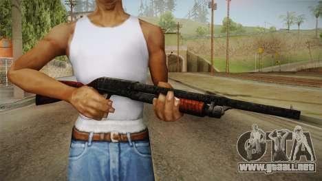 Silent Hill Downpour - Shotgun SH DP para GTA San Andreas tercera pantalla