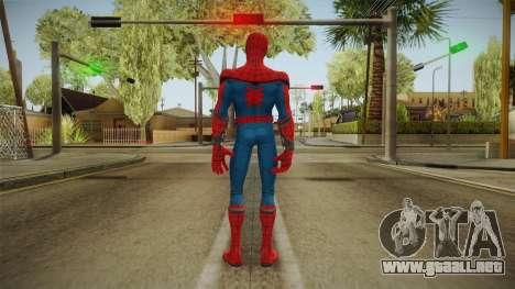 Marvel Contest Of Champions - Spider-Man v1 para GTA San Andreas tercera pantalla