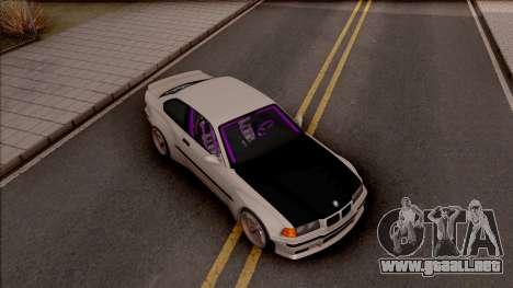 BMW M3 E36 Drift Rocket Bunny v4 para la visión correcta GTA San Andreas