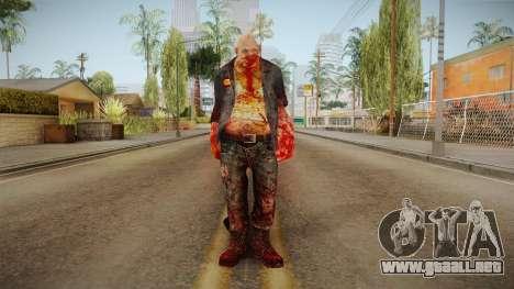 Fallout 3 - HillFolk Bruiser Skin para GTA San Andreas segunda pantalla
