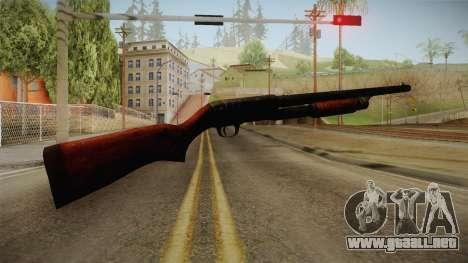 Silent Hill Downpour - Shotgun SH DP para GTA San Andreas segunda pantalla