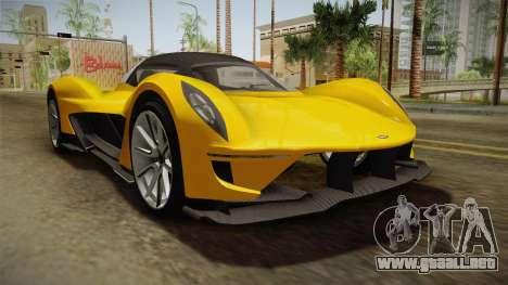 GTA 5 Dewbauchee Vagner para la visión correcta GTA San Andreas
