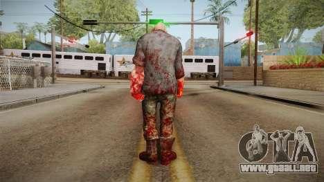 Fallout 3 - HillFolk Bruiser Skin para GTA San Andreas tercera pantalla