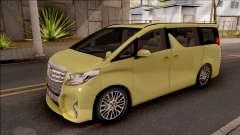 Toyota Alphard 2.5 G 2015 para GTA San Andreas
