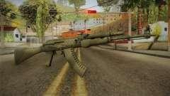CS: GO AK-47 Safari Mesh Skin para GTA San Andreas