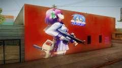 Yurippe Wall para GTA San Andreas