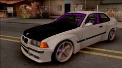 BMW M3 E36 Drift Rocket Bunny v4 para GTA San Andreas