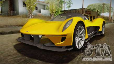 GTA 5 Dewbauchee Vagner para GTA San Andreas