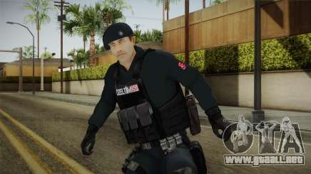 Turkish Police-Rapid Response Unit Member para GTA San Andreas
