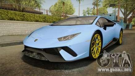Lamborghini Huracan Performante LP640-4 2017 v2 para GTA San Andreas