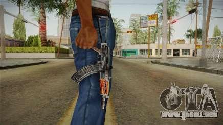 El arma de la Libertad v4 para GTA San Andreas