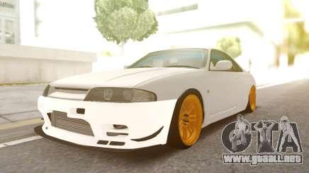 Nissan R33 Drift para GTA San Andreas
