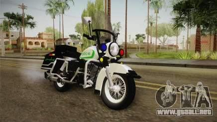 New Police Bike v1 para GTA San Andreas