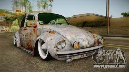 Volkswagen Beetle Rusty para GTA San Andreas