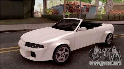 Nissan Skyline R33 Cabrio Tuned para GTA San Andreas