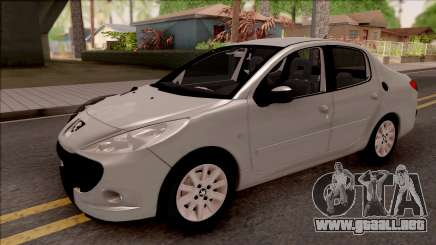 Peugeot 207 Passion para GTA San Andreas