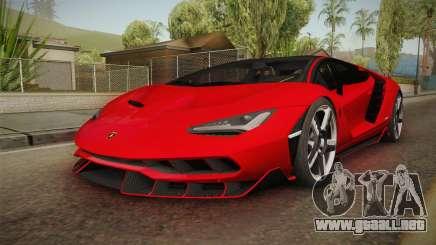 Lamborghini Centenario LP770-4 v2 para GTA San Andreas