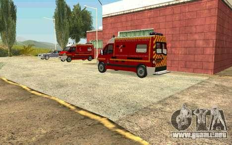 La recuperación del pueblo de Fort Carson para GTA San Andreas tercera pantalla