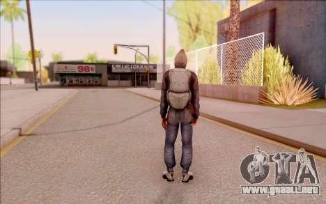 Degtyarev bandido de la chaqueta de S. T. A. L.  para GTA San Andreas sucesivamente de pantalla