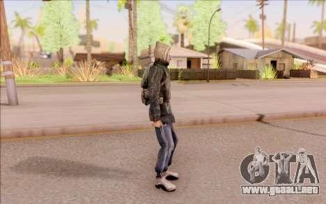 Degtyarev bandido de la chaqueta de S. T. A. L.  para GTA San Andreas tercera pantalla
