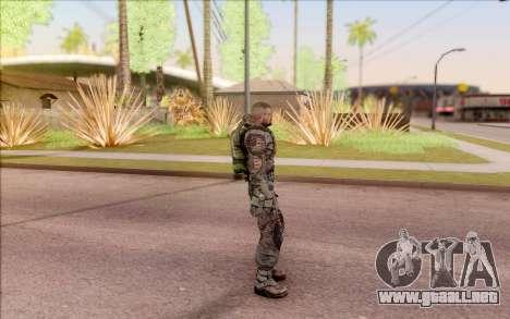 S. T. A. L. K. E. R. Zulu para GTA San Andreas tercera pantalla