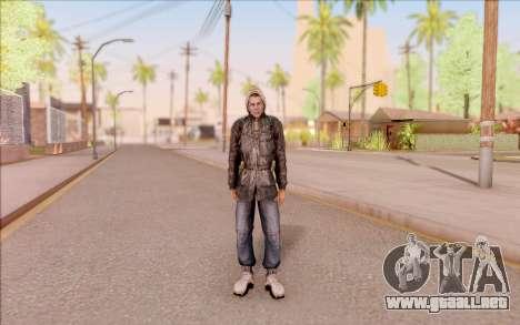 Degtyarev bandido de la chaqueta de S. T. A. L.  para GTA San Andreas segunda pantalla