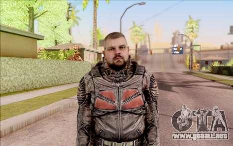 S. T. A. L. K. E. R. Zulu para GTA San Andreas