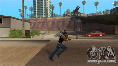 New Animations v4 Rapper Style Update para GTA San Andreas segunda pantalla