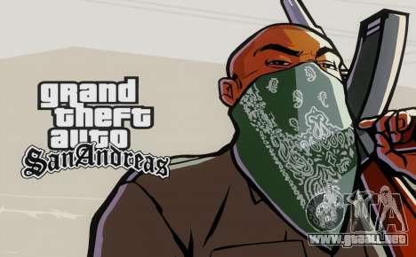 Loadscreens Remastered (HD) para GTA San Andreas tercera pantalla