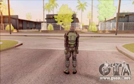 S. T. A. L. K. E. R. Zulu para GTA San Andreas sucesivamente de pantalla