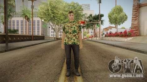 DLC GTA 5 Online Skin 3 para GTA San Andreas segunda pantalla