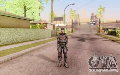 S. T. A. L. K. E. R. Zulu para GTA San Andreas segunda pantalla